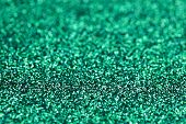 Turquoise Green Blue Sparkle Winter Glitter background. Holiday, Christmas, Nails abstract texture poster