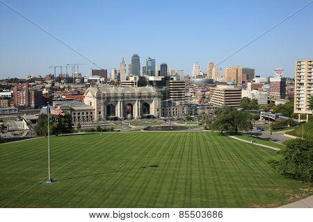 Kansas City Skyline - Union Station