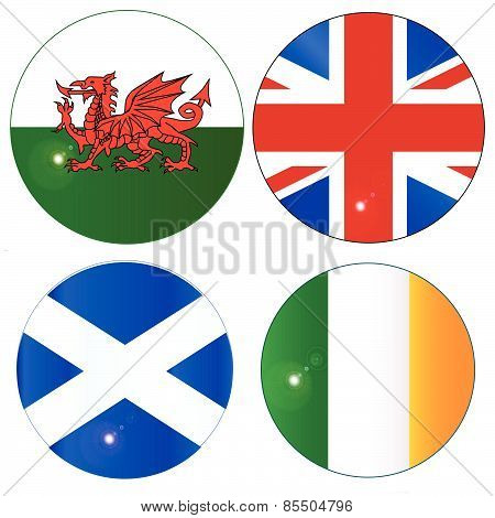 Buttons Of The Uk And Eire