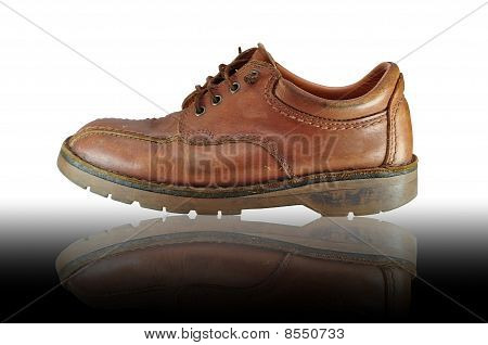 Man Leather Boot