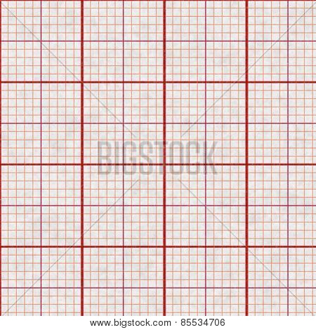 Graph paper background.