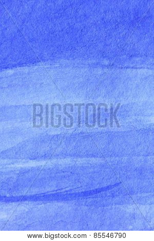 Cobalt Blue Hue Watercolor Background 4
