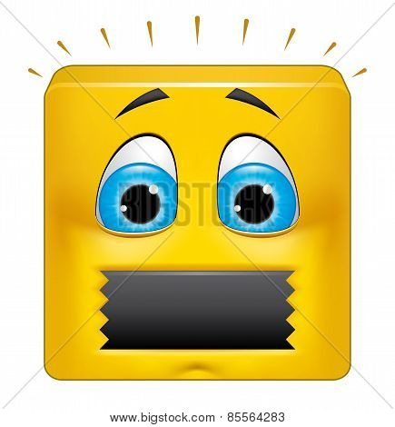 Square Emoticon Muted