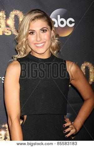 LOS ANGELES - MAR 16:  Emma Slater at the