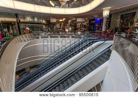 Shopping Mall Myzeil In Frankfurt