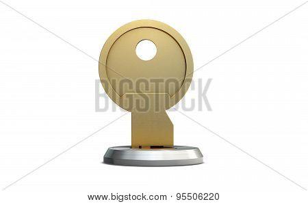 Empty Slot With Key