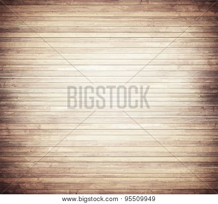 Light brown wooden texture with horizontal planks  floor, table, wall surface