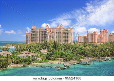 Tropical paradise resort