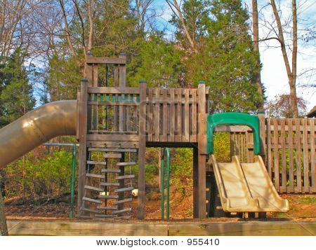 Play Area In The Fall