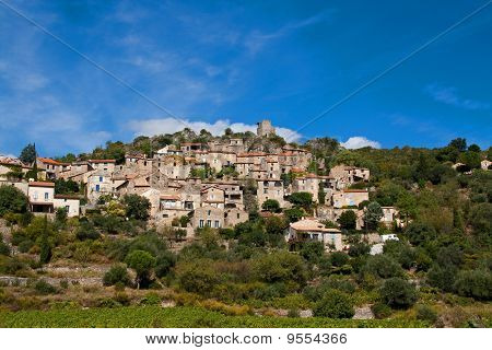 typical little village in the languedoc