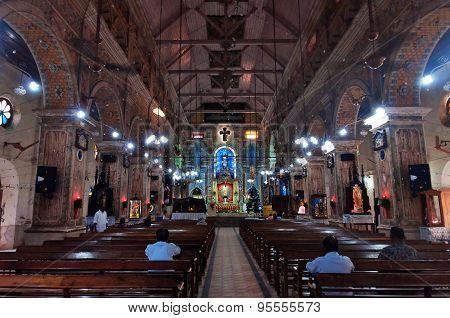 The Santa Cruz Cathedral Basilica At Fort Kochi