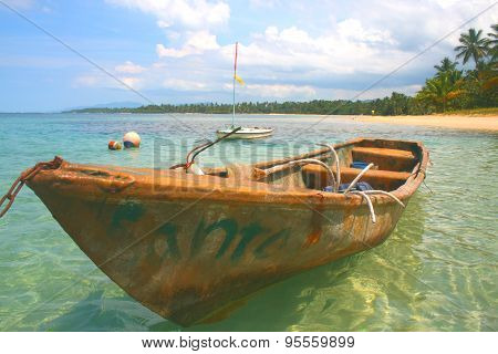 Old Fishing Boat, Dominican Republic