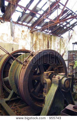 Abandoned Mine Winch