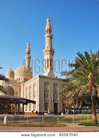 Old Mosque In Dubai, Uae