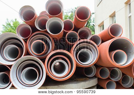 New Sewer Pipes