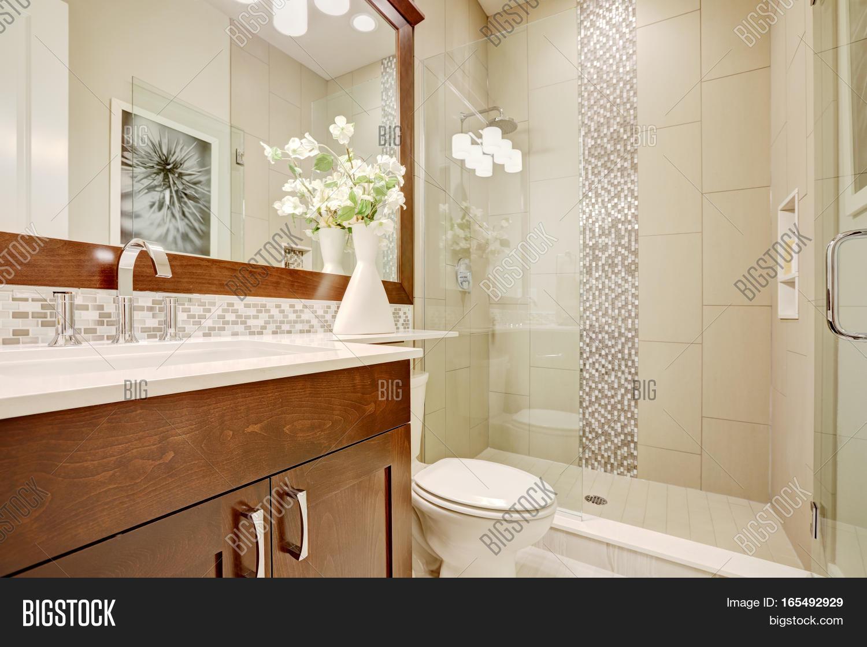 White Clean Bathroom Image & Photo (Free Trial)   Bigstock