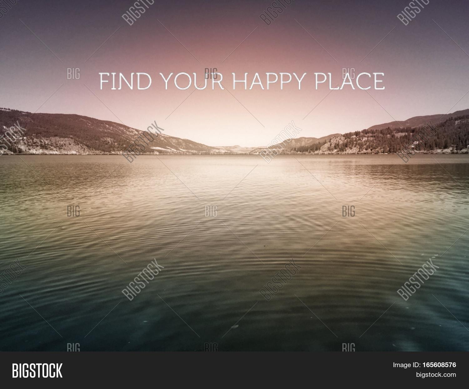 Inspirational Quote On Image Photo Free Trial Bigstock
