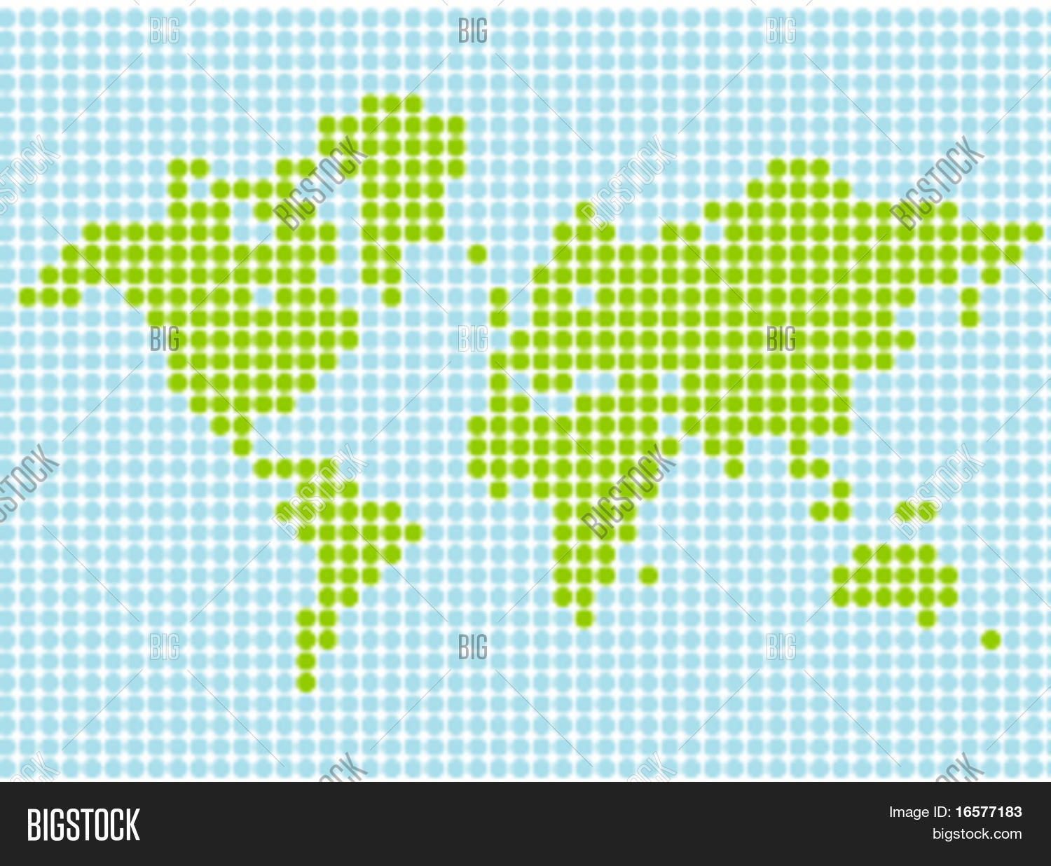 Stylized world map vector format vector photo bigstock stylized world map in vector format scalable and can be colored at will gumiabroncs Image collections