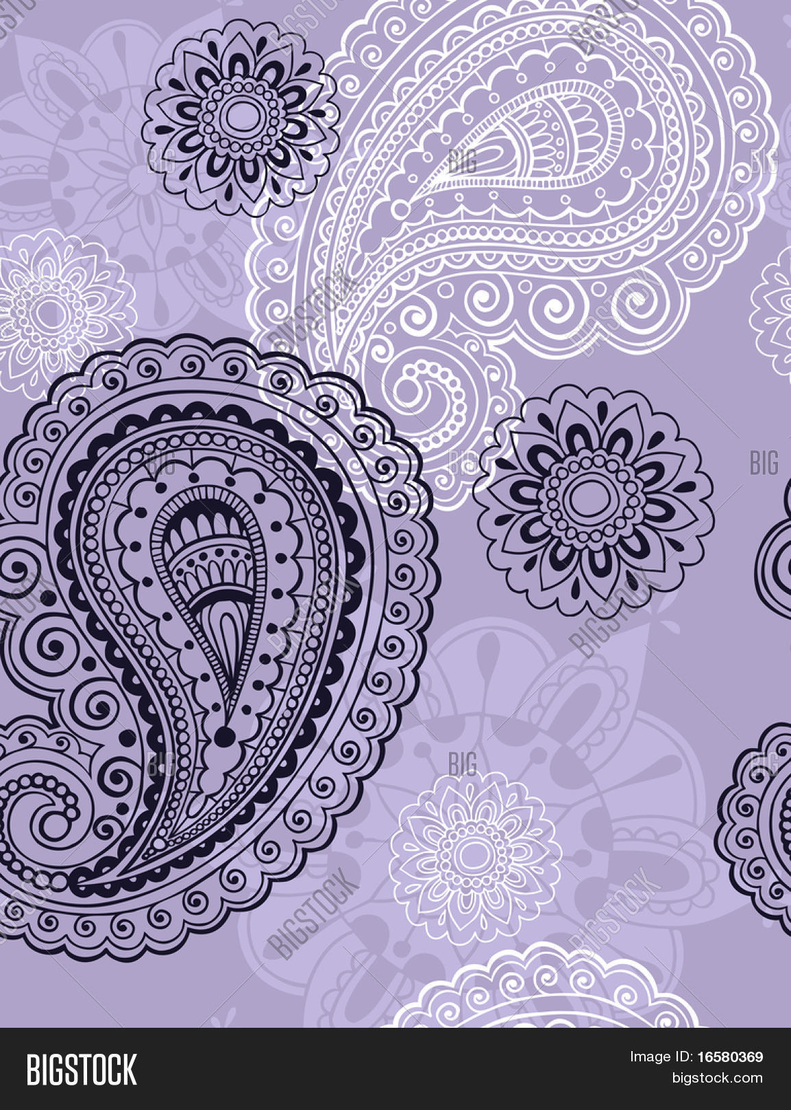 Seamless Repeat Vector Photo Free Trial Bigstock