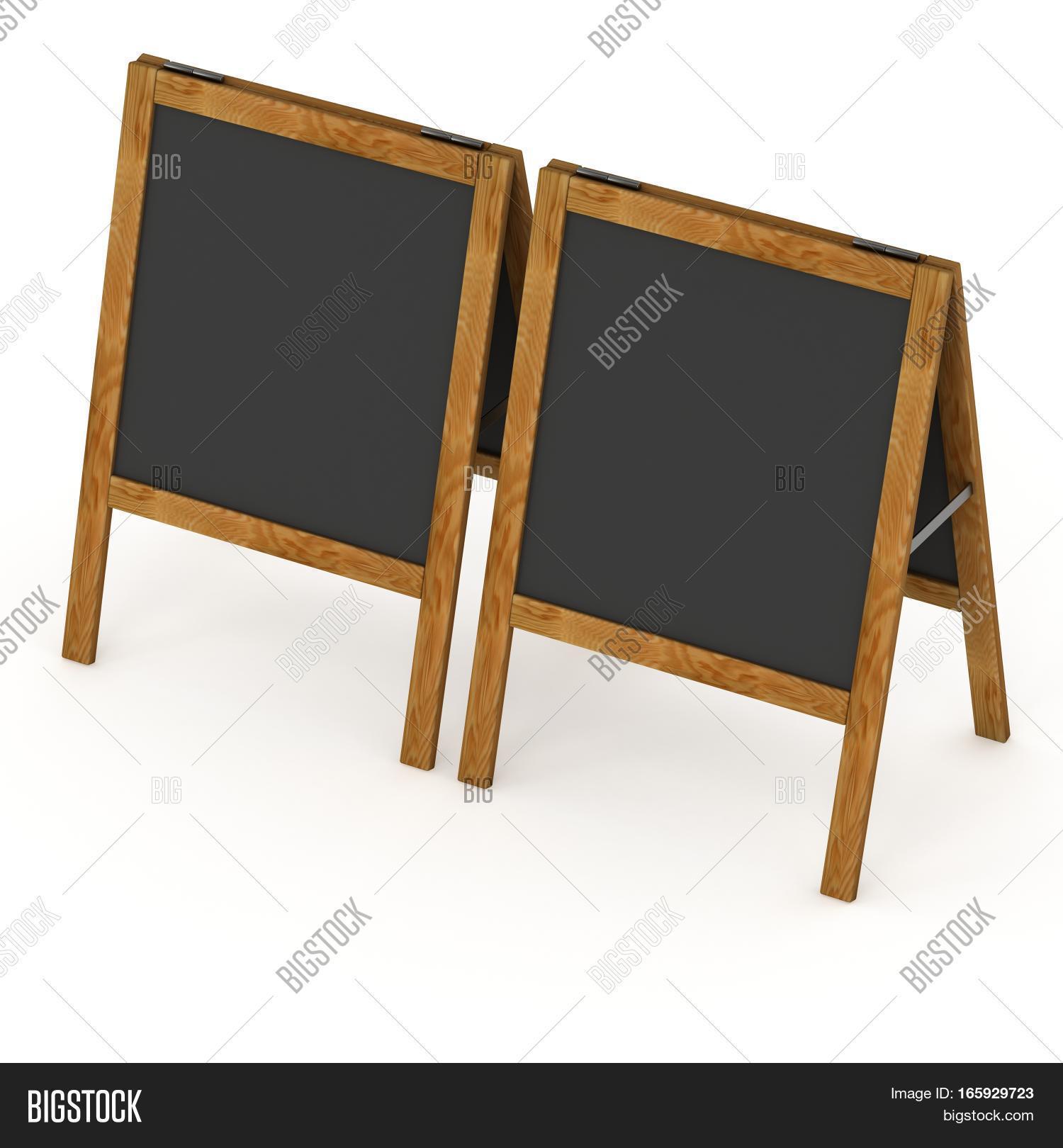 Sandwich Board. Black Image & Photo (Free Trial) | Bigstock