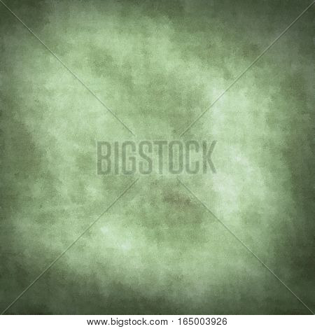 Light moss green parchment or paper like grungy obsolete texture background