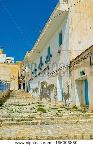 The Residential Quarter Of El Kef