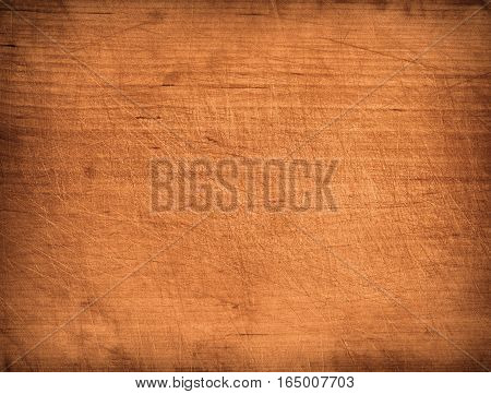 Brow wooden plank, tabletop, floor surface or chopping, cutting board. Wood texture
