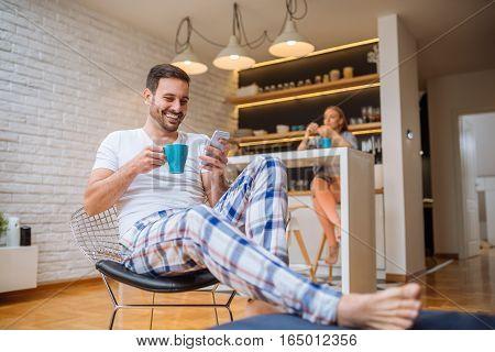 Morning Coffee And Wifi