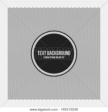 Text Background Template With Simple Geometric Pattern. Useful For Presentations And Advertising.