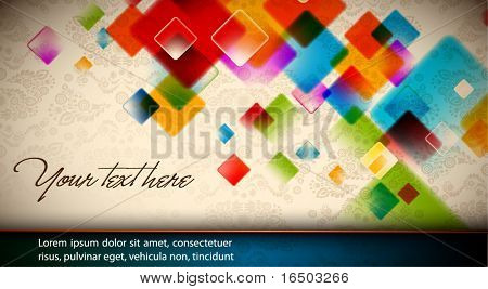 Colori intensivi - EPS10 astratto sfondo vettoriale