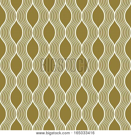 Vector seamless pattern graphic geometric wrapping paper made using netting circles. Abstract backdrop created with interweave lines and circles can be used in textile and web designs