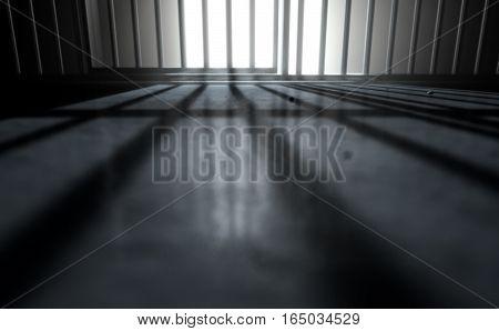 Jail Cell Shadows