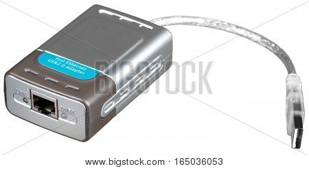 Portable External USB Powered Hard Drive - Isolated