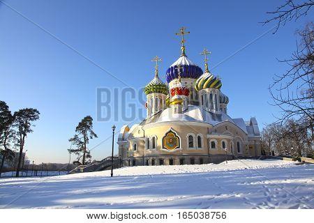 Russia. Moscow. Church of the Holy Igor of Chernigov