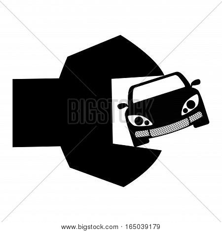 car repair workshop emblem icon image vector illustration design