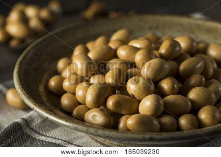 Homemade Brown Japanese Peanuts