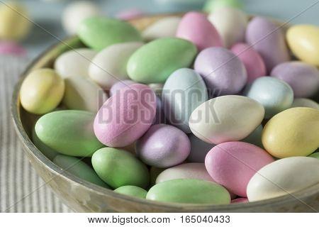 Sweet Candied Jordan Almonds
