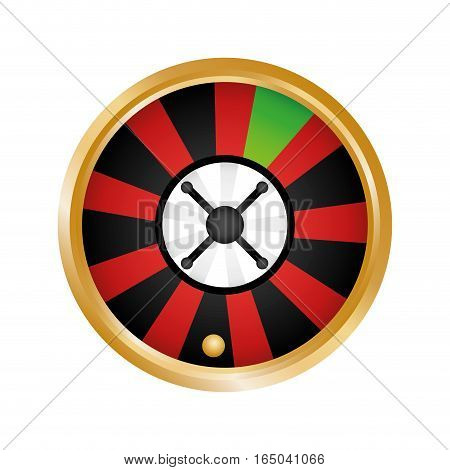roulette casino related icons image vector illustration design