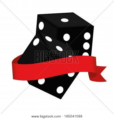 dice game casino related icons image vector illustration design
