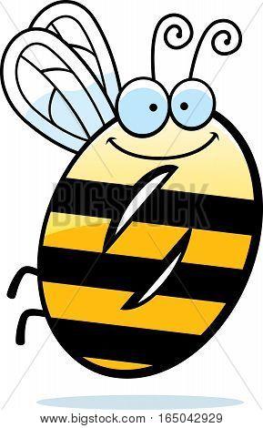 Cartoon Number Zero Bug