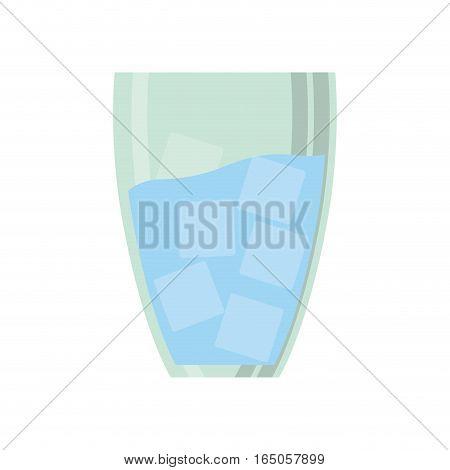 Fresh water drink icon vector illustration graphic design