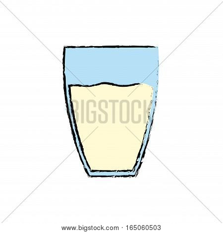 Fresh milk dairy icon vector illustration graphic design