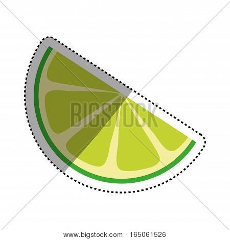 Lemon citric fruit icon vector illustration graphic design