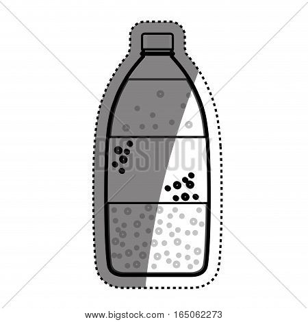 Fresh water drink icon vector illustration graphic design