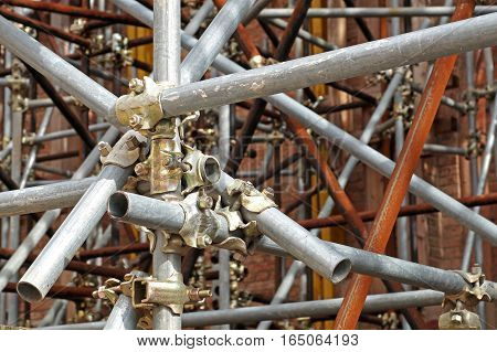 Scaffolding pipe clamp and parts, An important part of building strength to scaffold