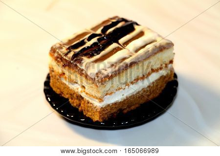 Cake. Fresh and tasty,pleasant to the taste.Perfect for the holiday table.