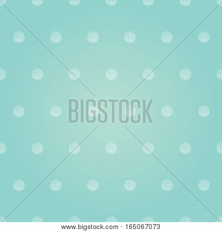 Vector Vintage Pastel Pink Baby Boy Polka Dots Circles Seamless Pattern Background With Fabric Texture. Perfect for girly nursery, birthday, circus or fair themed designs. Surface pattern design.