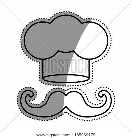 Chef hat symbol icon vector illustration graphic design