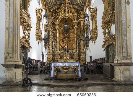 The Baroque Architecture Of Carmo Church In Olinda