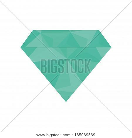 Diamond luxury jewerly icon vector illustration graphic design